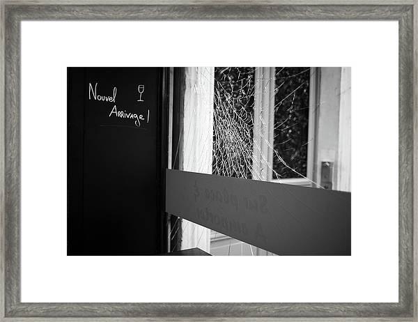 Nouvel Arrivage Framed Print
