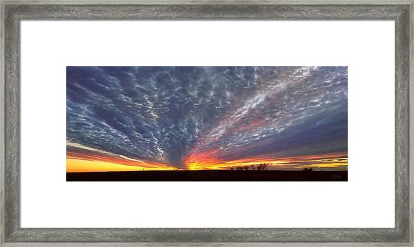 November Magic Framed Print