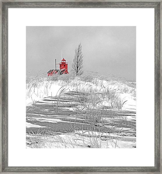 November Reverie Framed Print by James Rasmusson