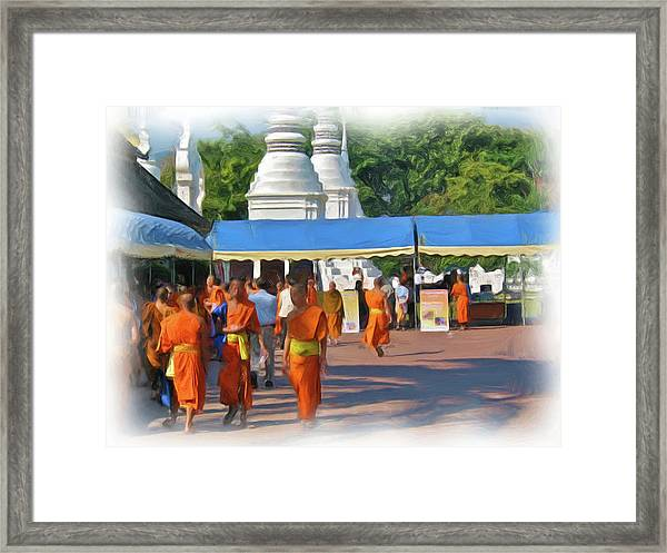 Novice Monk Fair 1 Framed Print