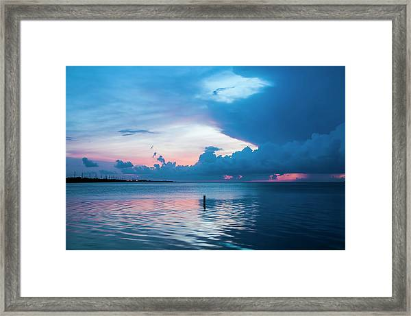 Now The Day Is Over Framed Print