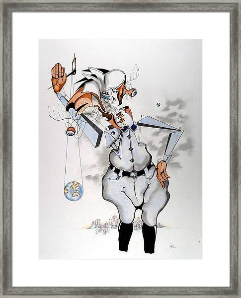 Nuage Hamlet  Framed Print by Daniel Culver