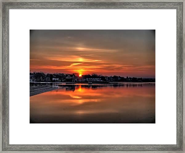 Nuclear Morning Framed Print