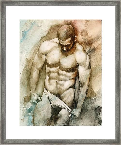 Nude 49 Framed Print