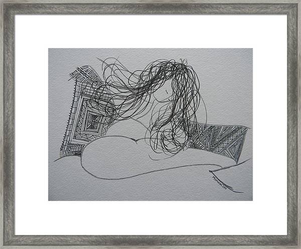 Nude I Framed Print