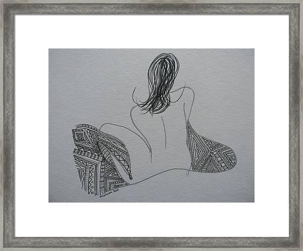 Nude II Framed Print