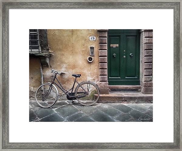 Number 49 Framed Print