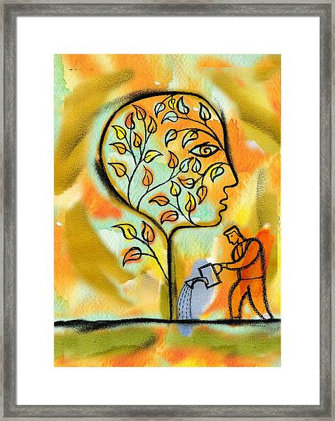 Nurturing And Caring Framed Print