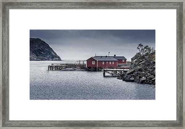 Nusfjord Rorbu Framed Print