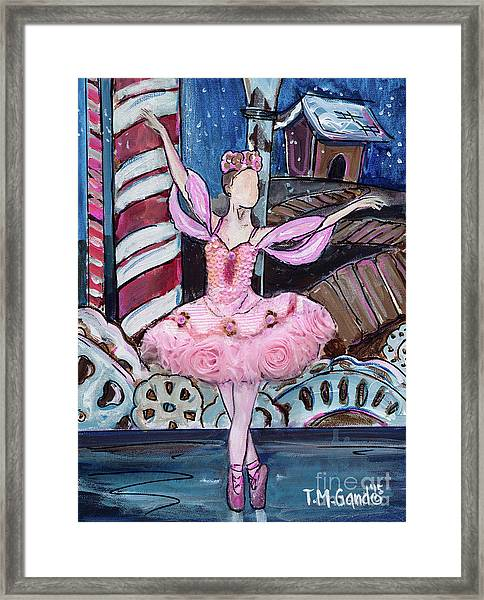 Nutcracker Sugar Plum Fairy Framed Print
