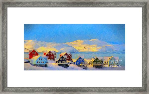 Nuuk, Greenland Framed Print