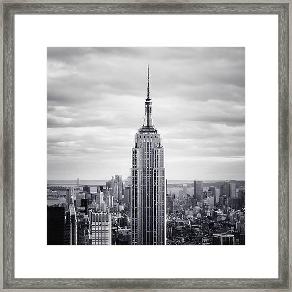 Nyc Empire Framed Print