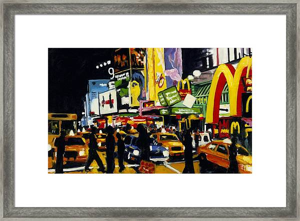 Nyc II The Temple Of M Framed Print
