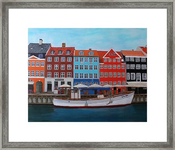 Nyhavn Copenhagen Framed Print