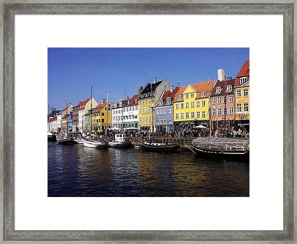 Nyhavn Framed Print by Sascha Meyer