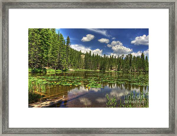 Nymph Lake 2 Framed Print