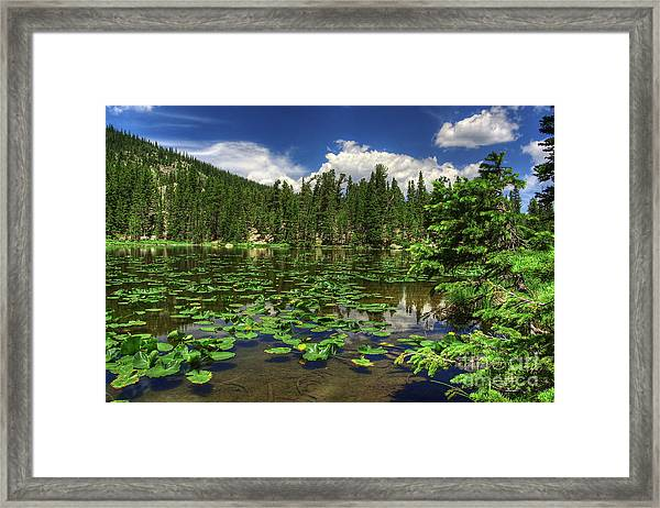 Nymph Lake Framed Print