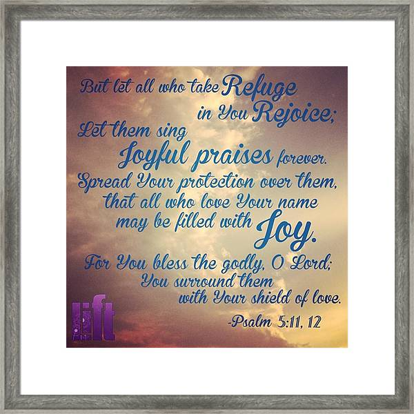 O Lord, Hear Me As I Pray;  Pay Framed Print