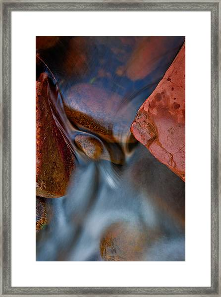 Oak Creek Squeeze Framed Print