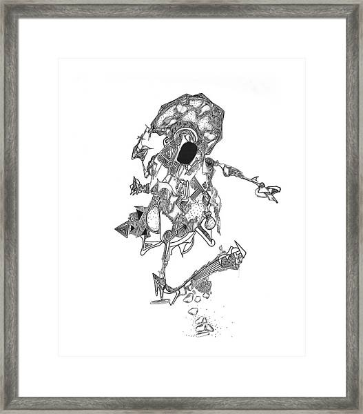Oberon Framed Print