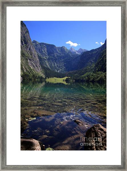Obersee Framed Print