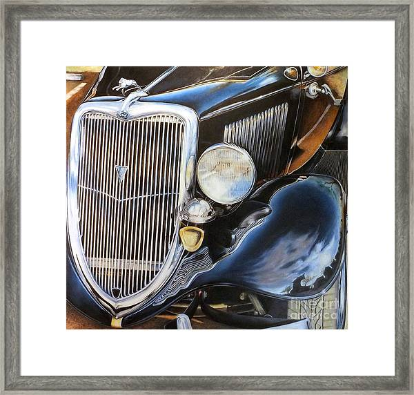 Object Of My Reflection Framed Print