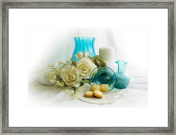 Ocean Blue Framed Print