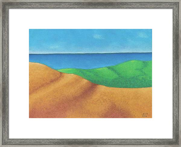 Ocean Daybreak Framed Print
