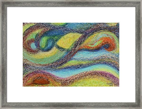 Ocean Flow Framed Print