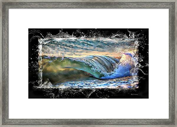 Ocean Motion Framed Print