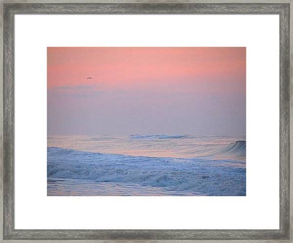 Ocean Peace Framed Print