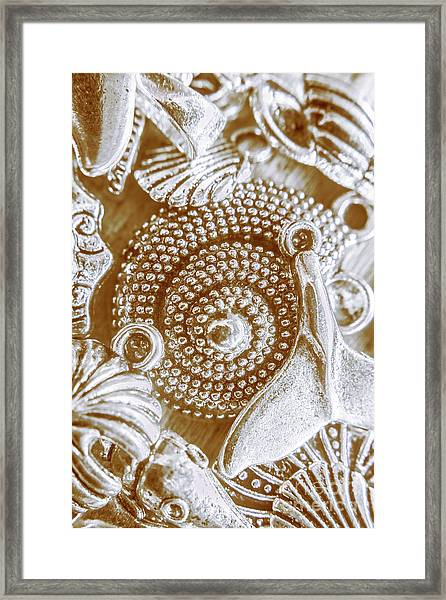Ocean Sea Abstract Framed Print