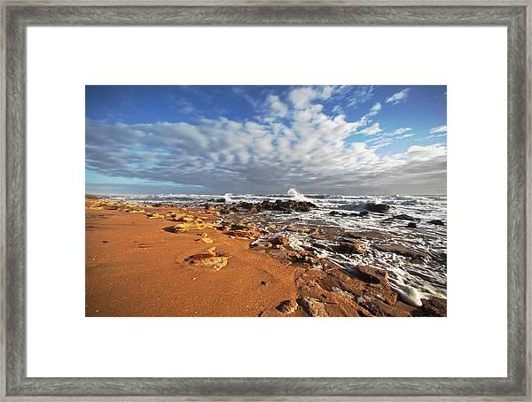 Ocean View Framed Print