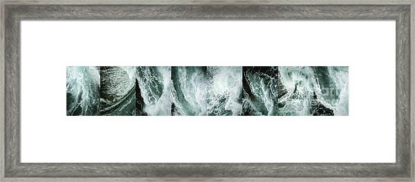 Ocean Waves - Ocean Waves - Ocean Waves.... Framed Print