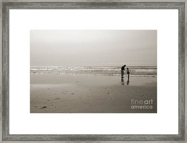 Oceanside Discovery 2 - Toned Framed Print