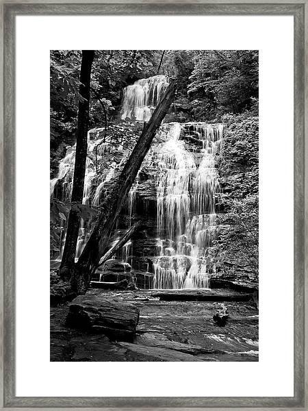 Oconee Station Falls IIi Framed Print