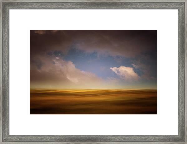 October Afternoon Framed Print
