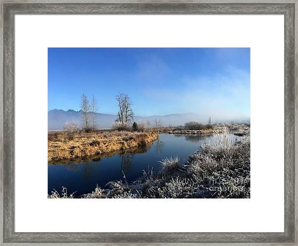 October Morning Framed Print