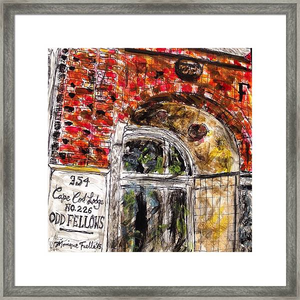 Odd Fellows, Cape Cod Framed Print