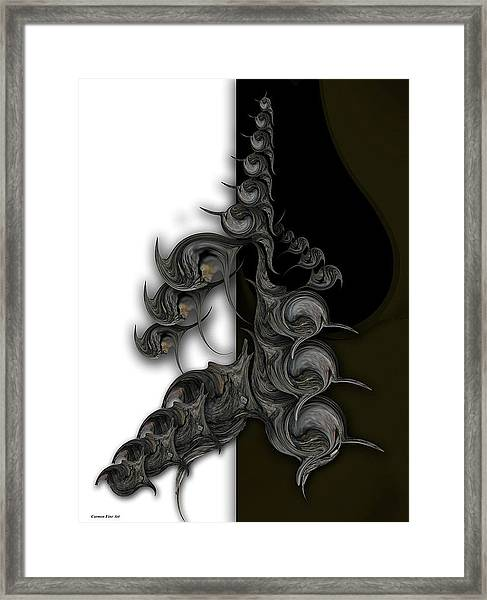 Ode To Aesthetic Dimensionality Framed Print