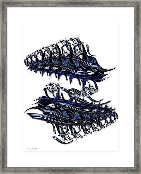 Ode To Aesthetic Ego Framed Print