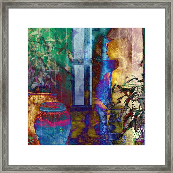 Ode On Another Urn Framed Print