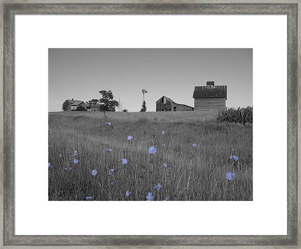 Framed Print featuring the photograph Odell Farm Iv by Dylan Punke
