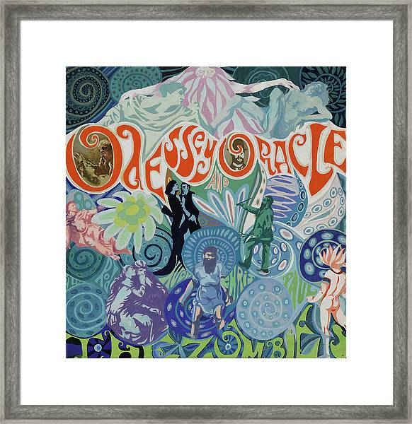 Odessey And Oracle - Album Cover Artwork Framed Print