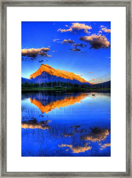 Of Geese And Gods Framed Print