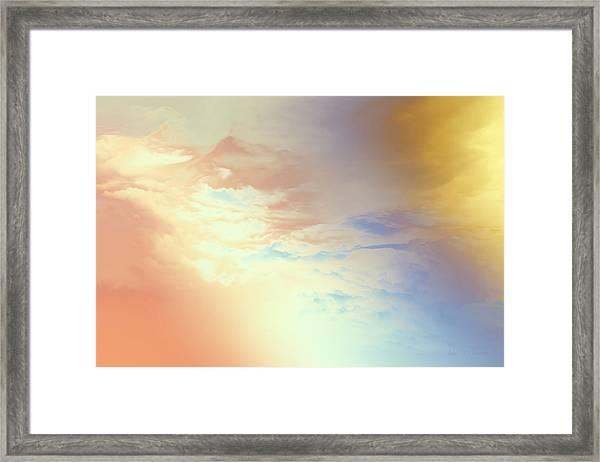 Of Heaven Framed Print