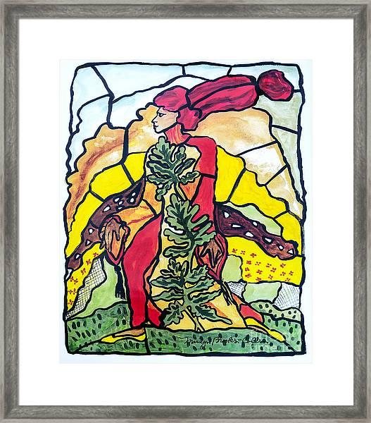 Of The Earth Framed Print