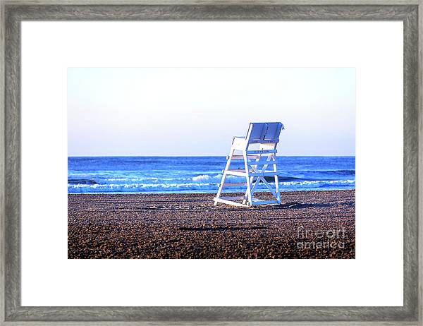 Off Duty At Wildwood Framed Print