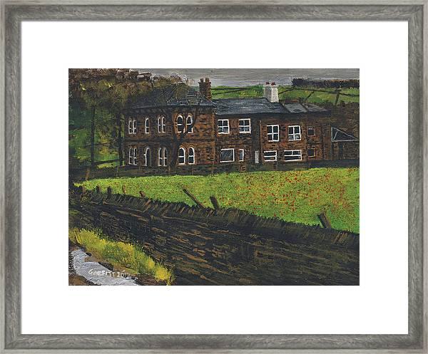 Off Hossock's Lane Framed Print