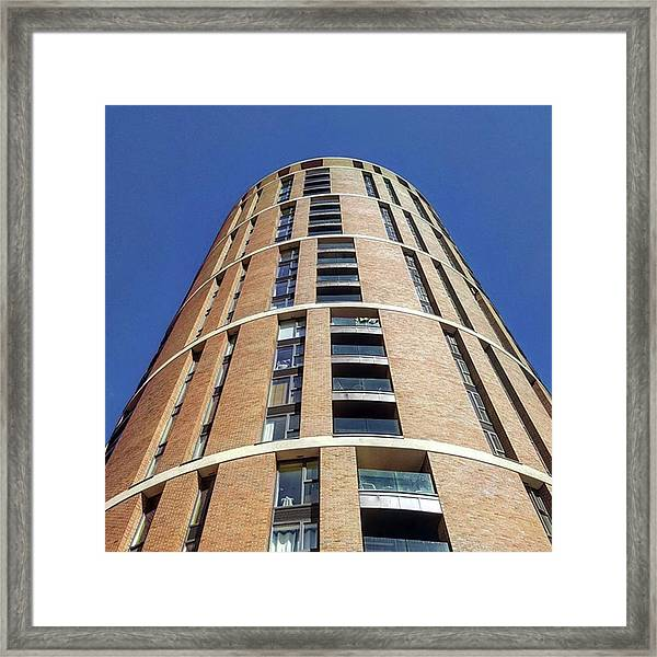 Office/apartments In #leeds. The Framed Print by Dante Harker